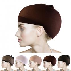 Čepice pod paruku - hnědá