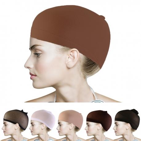 Čepice pod paruku - světle hnědá