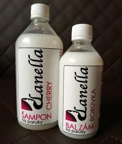 Šampon a balzam na paruky - AKCE