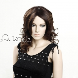 Dámská paruka Lanella D-04, dlouhá, vlnitá