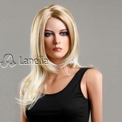 Dámská dlouhá blond paruka Lanella D-08