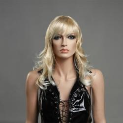 Kvalitní dámská blond paruka Lanella D-16
