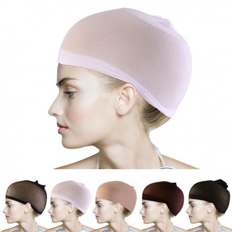 Čepice pod paruku - bílá