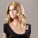 Blond vlnitá paruka Lanella S-13