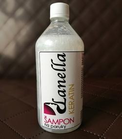 Šampon na paruky Keratin 215ml
