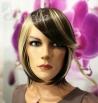 Krátká dámská paruka - Lanella K-28, dvoubarevná