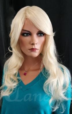 Kvalitní dámská blond paruka Lanella D-27