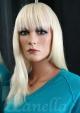 Blond paruka melír Lanella S-18