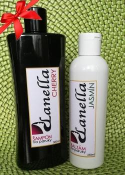 Šampon a balzam na paruky - SADA velké balení