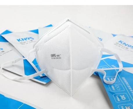 Respirátor KN95 (FFP2) proti virům - SKLADEM