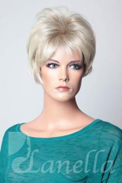 Dámská krátká blond paruka Lanella K-47