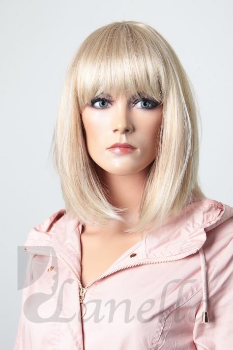 Blond paruka Lanella K-72, mikádo, podkova