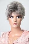 Dámská blond šedán paruka - Lanella K-64