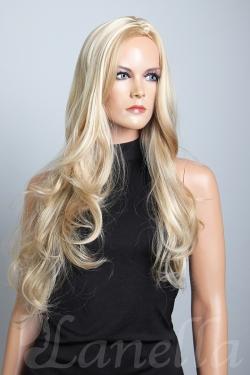 Dámská blond paruka dlouhá Lanella DN1