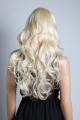 Luxusní dámská paruka dlouhá extra blond Lanella DN18