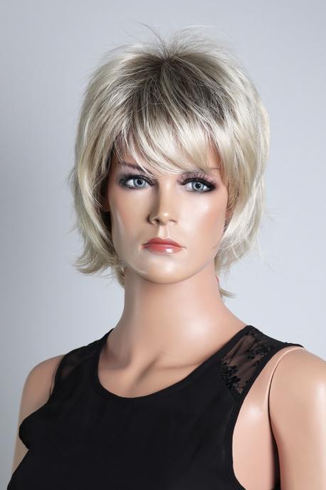 Dámská krátká blond paruka KN22b