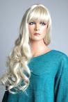 Luxusní dámská dlouhá paruka blond Lanella DN19