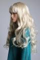 Luxusní dámská dlouhá paruka blond Lanella DN18