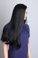 Dámská paruka dlouhá extra černá Lanella DN22