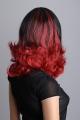 Černo červená paruka Lanella SN32