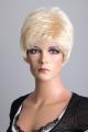 Dámská krátká blond paruka Lanella KN56