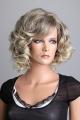 Kudrnatá blond dámská paruka - Lanella SN33