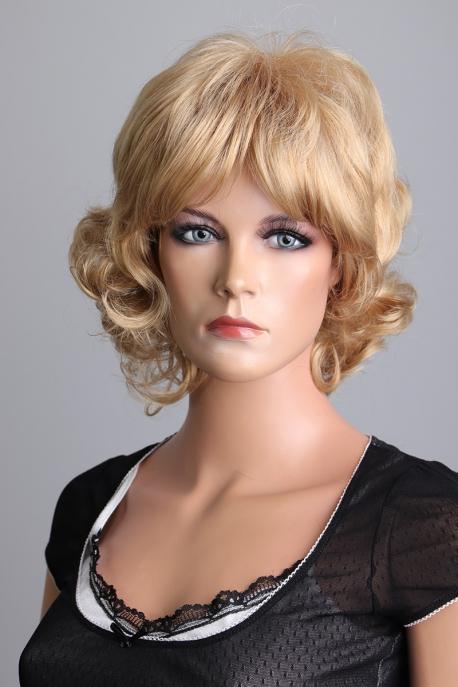 Krátká kudrnatá dámská paruka - Lanella SN36